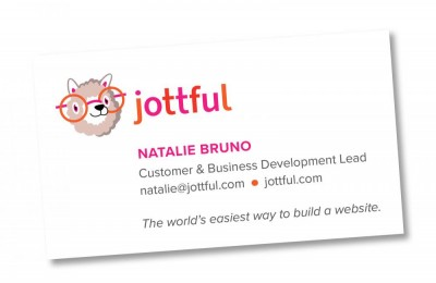 jottful business card