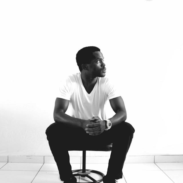 self portrait image black and white