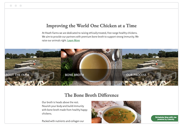 health farms bone broth