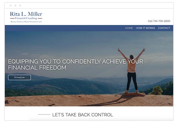 financial coach website