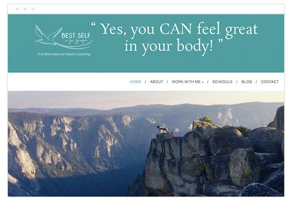life coach website dest self