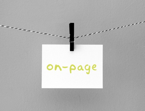 "What is ""on-page"" and ""off-page"" SEO?"