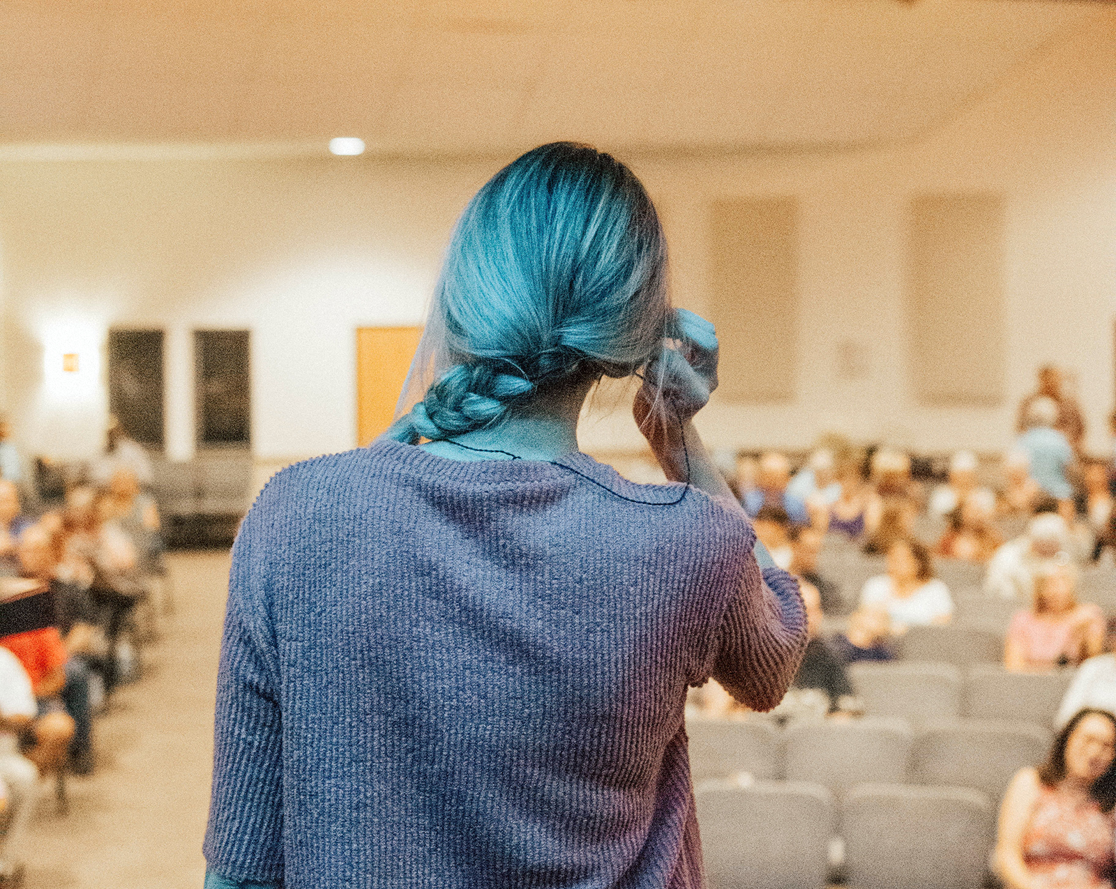 speaking at an event can get your business noticed
