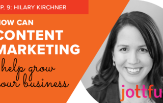 EP9 Hilary Kirchner content marketing graphic