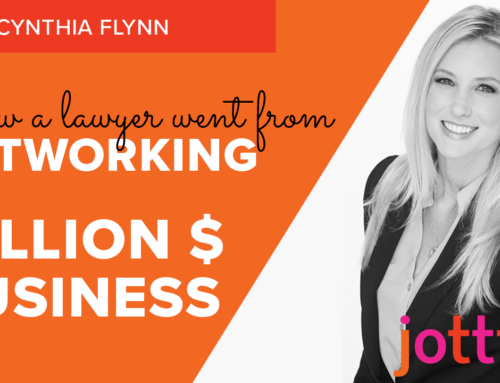 How one professional went from networking to million-dollar business