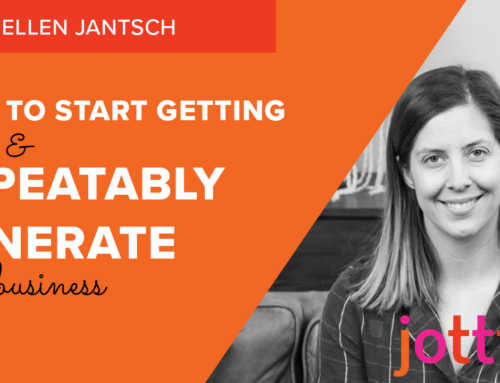 How to start getting inbound leads & repeatably generate new business
