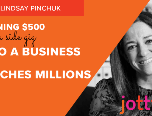 Turning $500 and a side gig into a business that reaches millions
